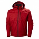 Crew Hooded Midlayer Jacket Red Image thumbnail