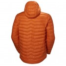 VERGLAS HOODED DOWN INSULATOR BLAZE ORANGE BACK thumbnail