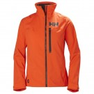 HELLY HANSEN W HP RACING MIDLAYER JACKET CHERRY TOMATO FRONT thumbnail