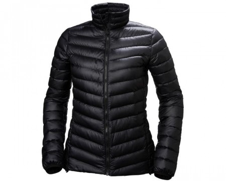 HELLY HANSEN W VERGLAS DOWN INSULATOR BLACK