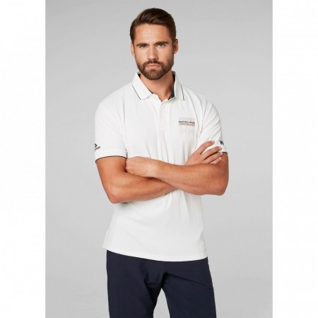 HELLY HANSEN HP RACING POLO WHITE