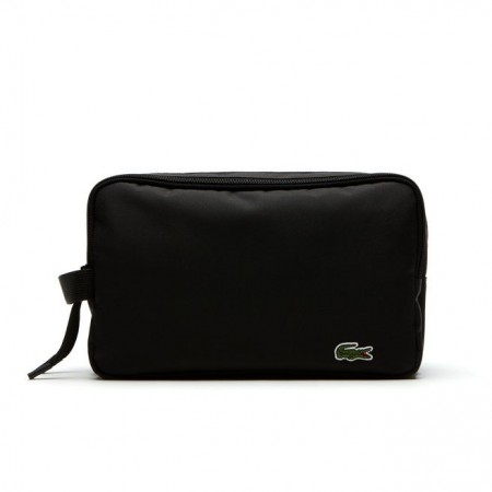 Men´s Lacoste Neocroc Double Zip Toilet Kit Black