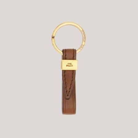 The Bridge - Key Ring - Brown