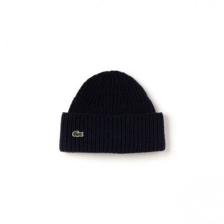 MEN´S TURNED EDGE RIBBED WOOL BEANIE