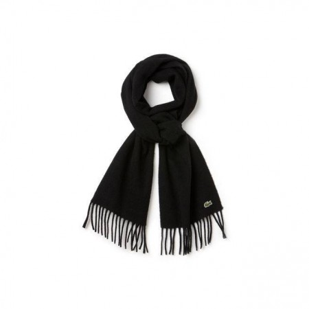 MEN´S WOOL AND CASHMERE FLANNEL FRINGE SCARF