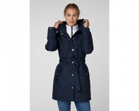 HELLY HANSEN W LYNESS II COAT EVENING BLUE