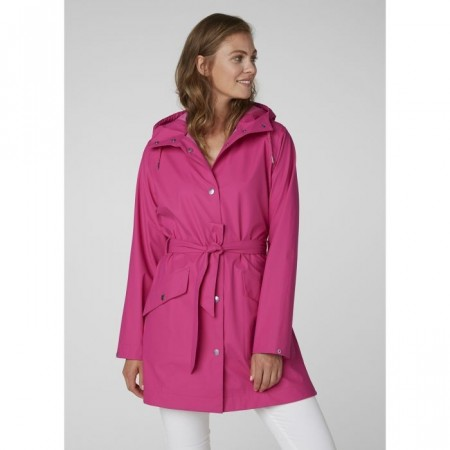 HELLY HANSEN W LYNESS II COAT DRAGON FRUIT