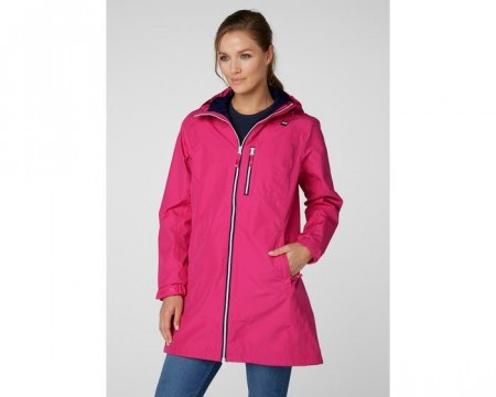 HELLY HANSEN W LONG BELFAST JACKET DRAGON FRUIT