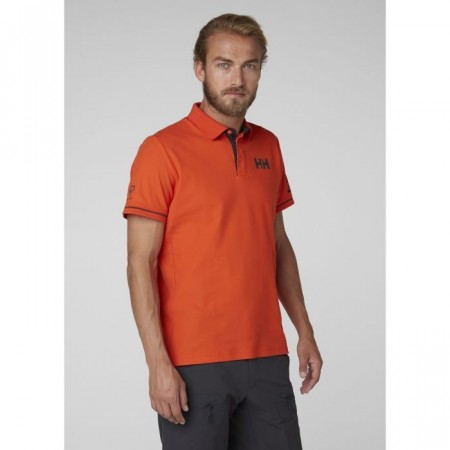 HELLY HANSEN HP SHORE POLO CHERRY TOMATO