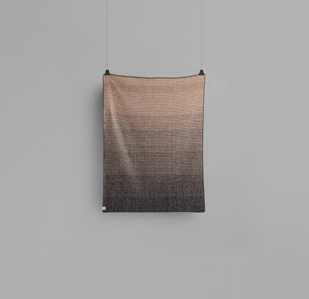 RØROS - Agnes - Light Pink - Grey - lambswool