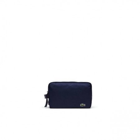 Men´s Lacoste Neocroc Double Zip Toilet Kit Navy Blue