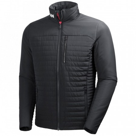HELLY HANSEN CREW INSULATOR JACKET EBONY