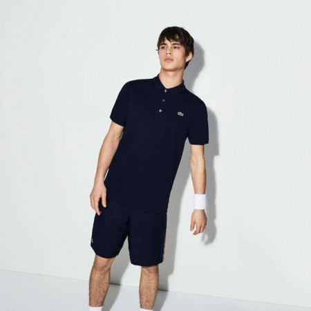 Men´s Lacoste SPORT Tennis regular fit polo in ultra-lightweight knit NAVY