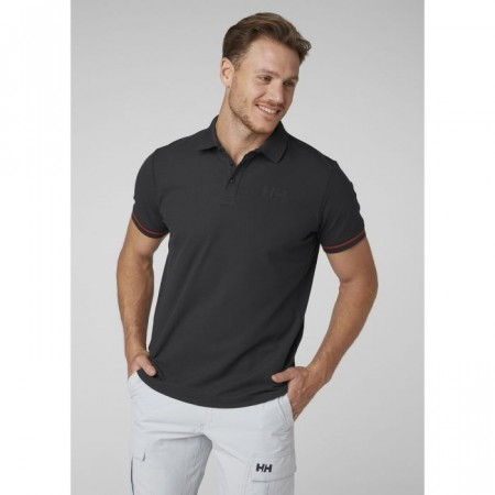 HELLY HANSEN HP SHORE POLO EBONY