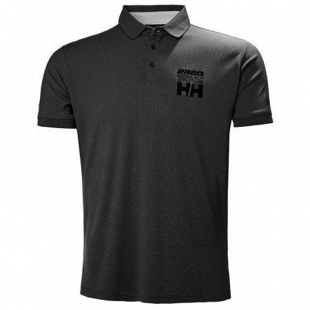 HELLY HANSEN HP RACING POLO EBONY