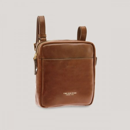 The Bridge - MAN BAG - Brown