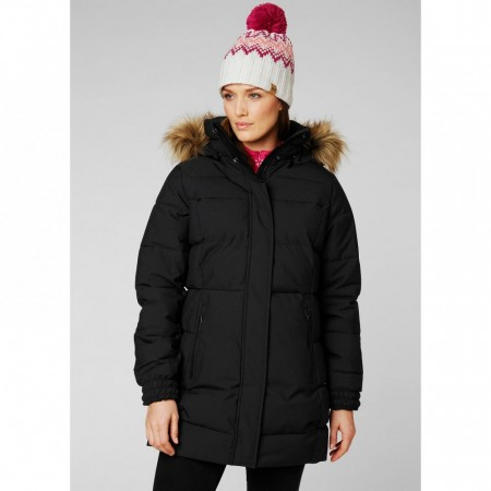 HELLY HANSEN W BLUME PUFFY PARKA BLACK