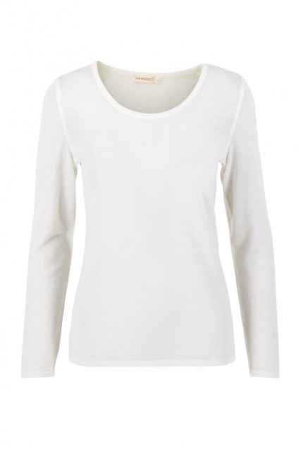 THE PRODUCT - Women´s Merino Long Sleeve - Off White