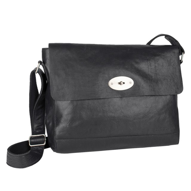 FLAP BAG LARGE HOUSE OF SAJACO - Black