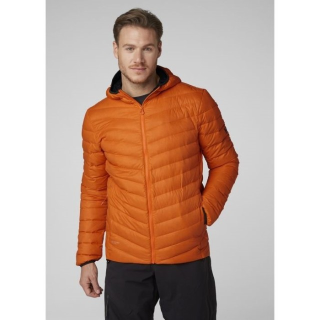 VERGLAS HOODED DOWN INSULATOR BLAZE ORANGE FRONT