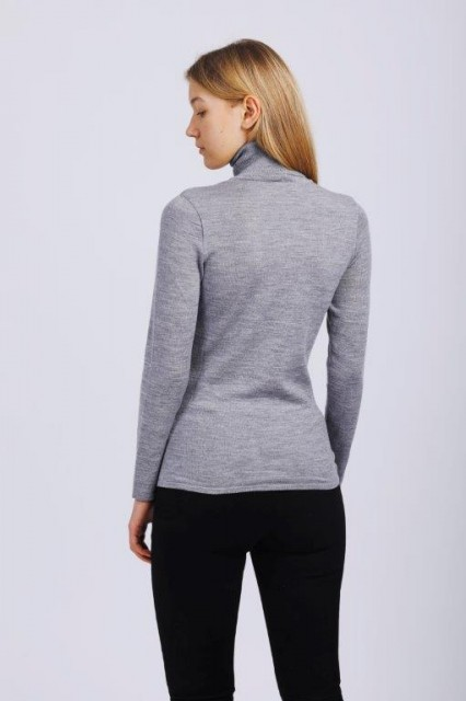 THE PRODUCT - Women´s Merino Polo (Turtle neck) - Image