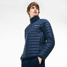 MEN´S SHORT CONTRAST LINING QUILTED JACKET-IMAGE
