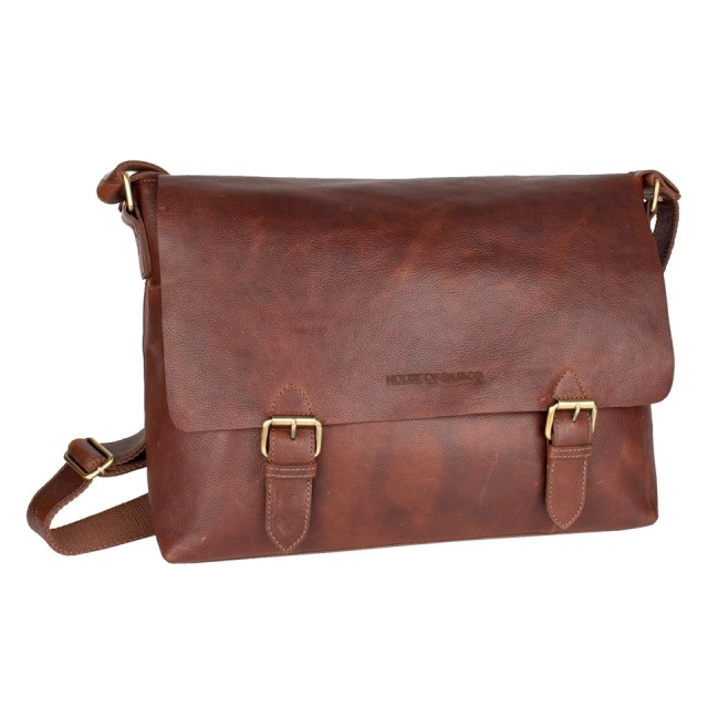 FLAP BAG LARGE HOUSE OF SAJACO - Brown