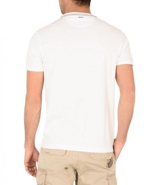 Senou T-Shirt White Back