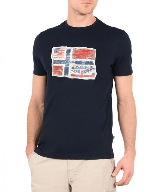 Senou T-Shirt Dark Blue Front