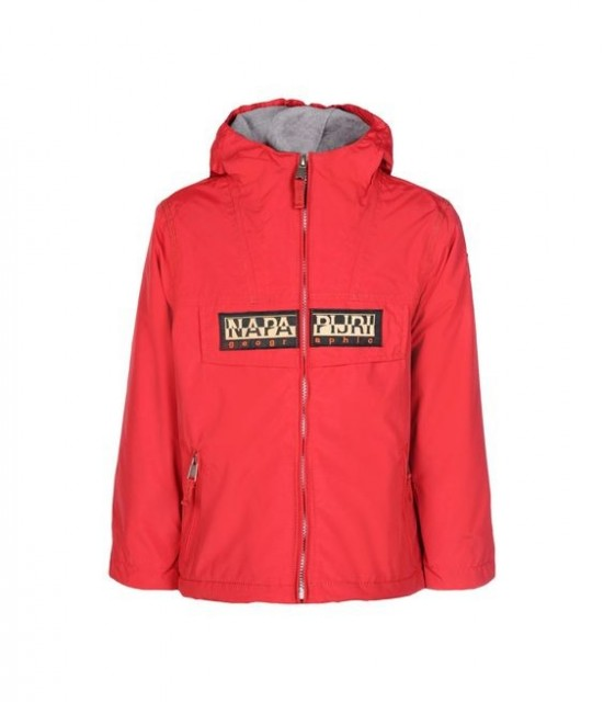 Napapijri - RAINFOREST mid-season Jackets for Juniors in Red