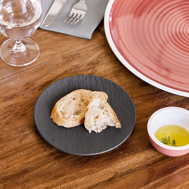 VILLEROY & BOCH - MANUFACTURE ROCK - BREAD & BUTTER PLATE - IMAGE