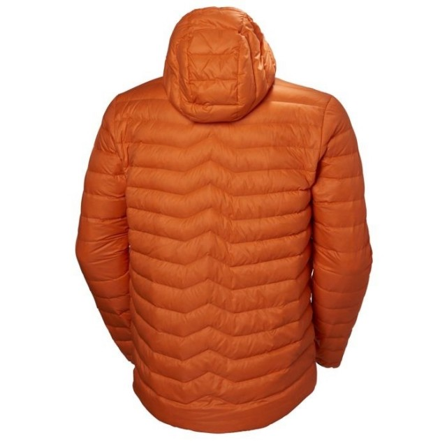 VERGLAS HOODED DOWN INSULATOR BLAZE ORANGE BACK