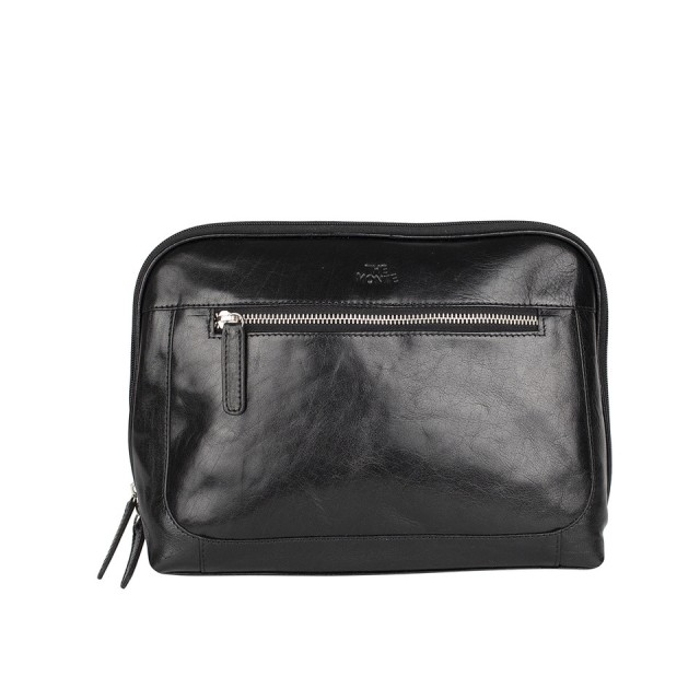 TOILET BAG THE MONTE - Calf Leather - Front
