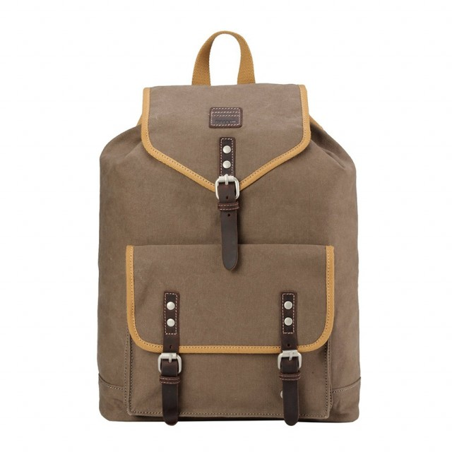 BACKPACK TROOP - TROOP London - COTTON - Canvas - Front